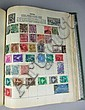 Four Postage Stamp Albums, to include British and