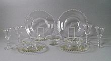 An extensive Continental glass service, 20th