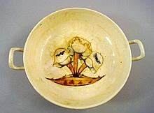 'Toadstools', a Moorcroft tazza bowl, painted with