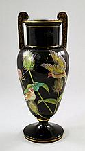 An English stoneware vase, possibly by the