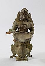 An Indian temple light, 17th/18th century,