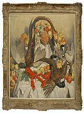 Philippe N Swyncop, Belgian 1878-1949- Still life