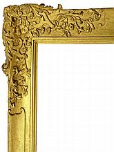 An English Carved and Gilded Panel Frame, early 19