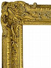 A French Carved and Gilded Regence Frame, early 18