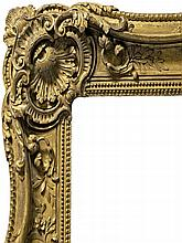 A French Carved and Gilded Louis XV style Double S