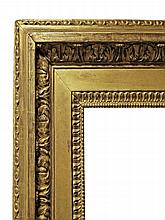 A French Carved and Gilded Neoclassical Frame, lat