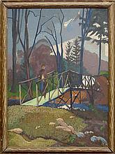 Henry Grub, German/American 1884-1963- Unfinished