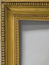 A Carved and Gilded Empire Frame, late 18th/early