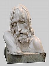 Pietro Canonica, Italian, 1869 - 1959, a marble sc