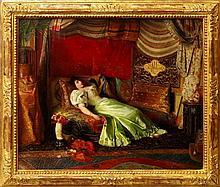 Georges Croegaert, Belgian 1848-1923- ''Dreams Of