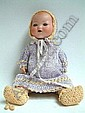 An Armand Marseille Dream Baby, no 351,with infant body, 31cm.