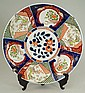 An Imari charger, of circular form, central