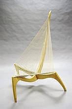 A Jurgen Hovelskov 'Harp' Chair, designed 1968