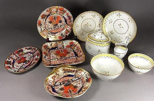A Derby style part dinner service, overall