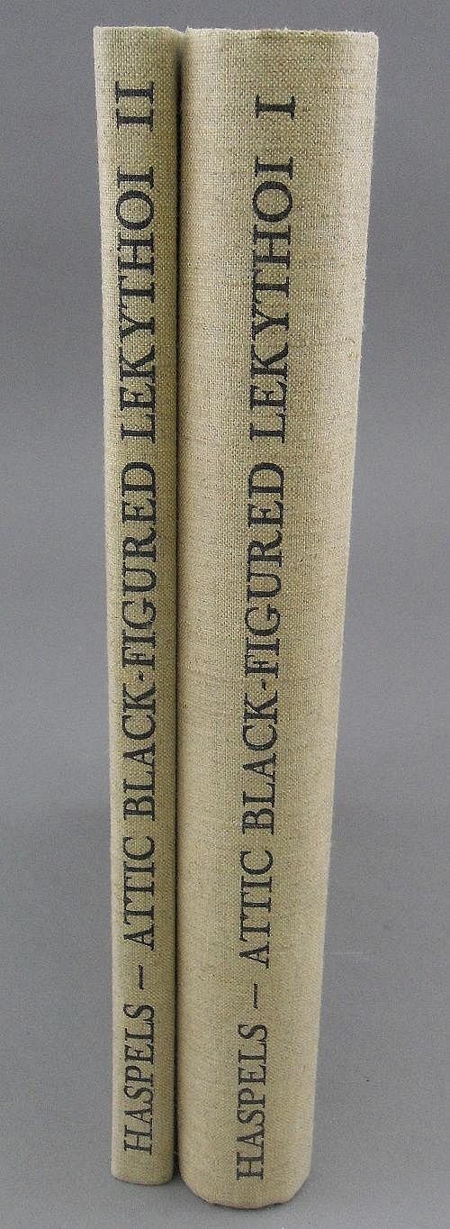 Attic Black-Figured Lekythoi, 2 volumes, C.H.
