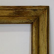 An Italian Painted Moulding Frame, 17th century, p