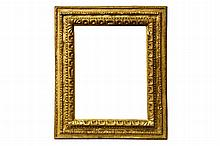 An Italian Carved and Gilded Cassetta Frame, 16th/