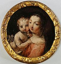 Italian School, 17th century- The Madonna and Chil