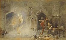 Alfred Edward Parkman, British 1852-c1930- ''The T