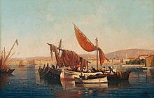Leon  Jean Giordano di Palma, Italian b.1886- Fish