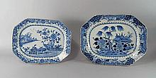 A Chinese export porcelain platter, late 18th cent