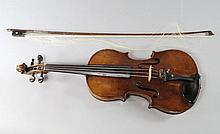 A Continental violin, late 19th/early 20th century