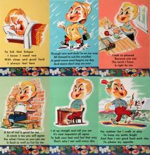 SIX  1949 NATIONAL DAIRY COUNCIL ORIGINAL VINTAGE POSTERS