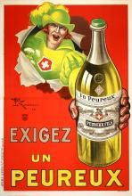 EXIGEZ UN PEUREUX - ORIGINAL VINTAGE POSTER BY LE MONNIER CIRCA1925