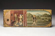 UMBRIAN school, end of the 15th century. Life of J