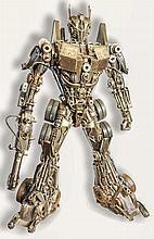 TRANSFORMER. UNIQUE PIECE of the famous robot conc