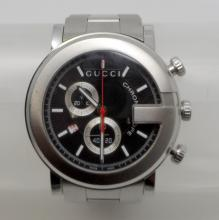 GUCCI G-WATCH 101G STEEL CHRONOGRAPH MENS WATCH