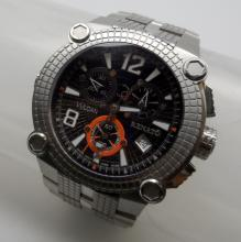 RENATO VULCAIN COLLECTION - STAINLESS STEEL QUARTZ - LIMITED EDITION - 46 MM