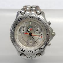 TAG HEUER PROFFESIONAL CG1116 STAINLESS STEEL SILVER DIAL QUARTZ WATCH