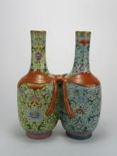 Daoguang: Famille-rose Joint Vase