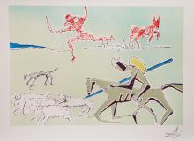 Dali: Don Quixote - Warrior's Heard