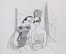 Al Hirschfeld, Antony and Cleopatra