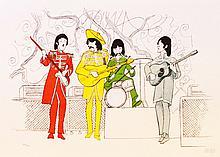 Al Hirschfeld, The Beatles