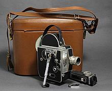 PAILLARD BOLEX, caméra Suisse (dans sa sacoche) -