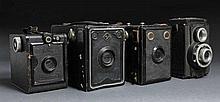4 Box - En l'état - 2 Box Agfa (dont une avec film