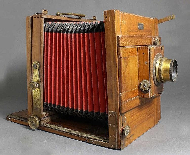 chambre photographique de voyage, demaria-lapierre aux enchères