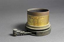 Curiosité rare - Pièce d'objectif circa 1880 - Etu