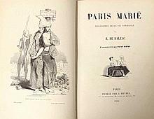 BALZAC (Honoré de) - Paris marié - Philosophie de