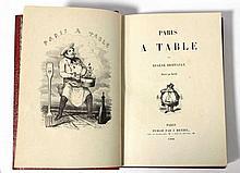 BRIFFAULT (Eugène) - Paris à table - Paris sous l'