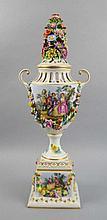 Huge Potpourri vase with lid