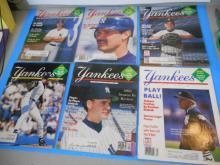 6 Yankees Magazines