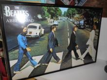 The Beatles Abby Road Framed Poster