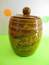 McCoy Barrel Cookie Jar
