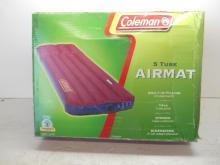 New Coleman 5 Tube Air Mattress
