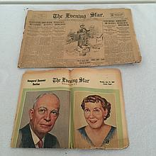 Two very old news papers