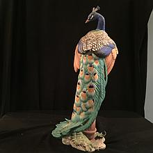 Peacock porcelain